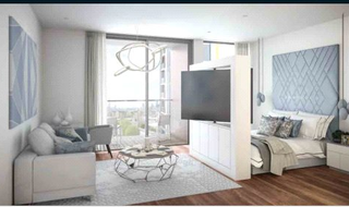 Flat for sale in Harbour Central, London, E14 9WT-View-1