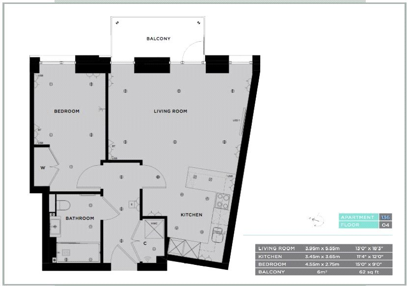 Flat to rent in Ariel House, 144 Vaughan Way, London, E1W | Gordon Ariel House Floor Plan on christmas story house floor plan, frodo baggins house floor plan, gatsby house floor plan, incredibles house floor plan, barbie house floor plan,